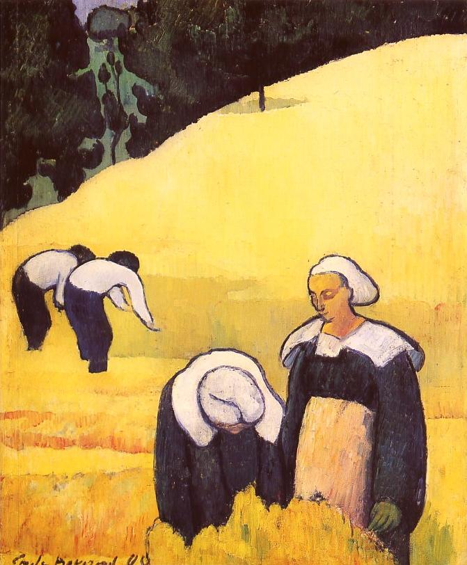 the-harvest-emile-bernard